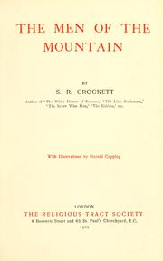 Cover of: The men of the mountain