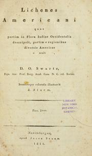 Cover of: Lichenes Americani