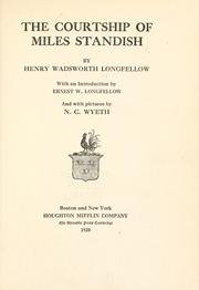 Cover of: The courtship of Miles Standish | Henry Wadsworth Longfellow