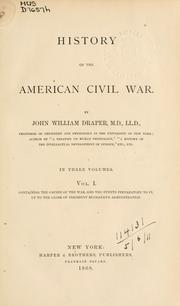 Cover of: History of the American Civil War