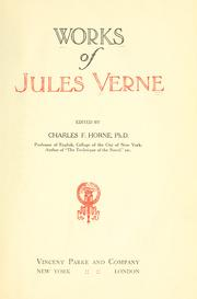Cover of: Works of Jules Verne