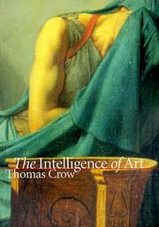 Cover of: The intelligence of art