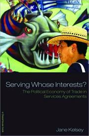 Cover of: Serving Whose Interests?