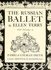 Cover of: The Russian ballet | Terry, Ellen Dame