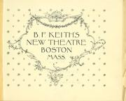Cover of: B.F. Keith's New Theatre. by
