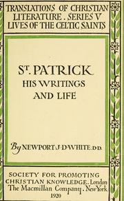 Cover of: St. Patrick