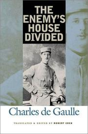 Cover of: The enemy's house divided