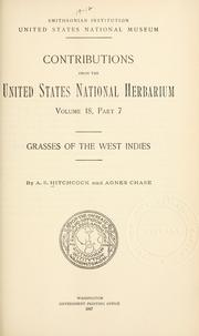Cover of: Grasses of the West Indies