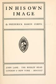 Cover of: In his own image