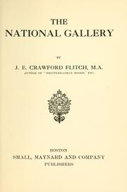Cover of: The National gallery