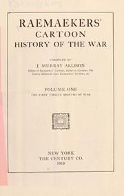 Cover of: Raemaekers' cartoon history of the war