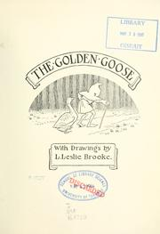 Cover of: The golden goose