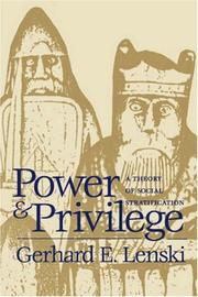 Cover of: Power and privilege