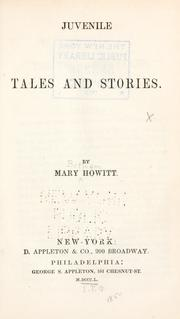 Cover of: Juvenile tales and stories