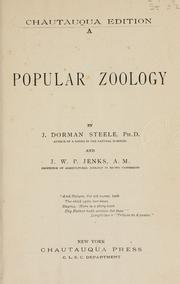 Cover of: A popular zoology