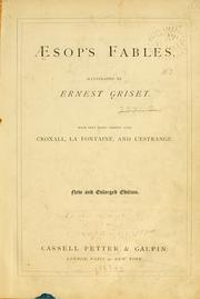 Cover of: Aesop's fables | Aesop