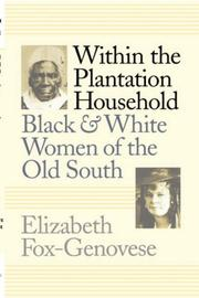 Cover of: Within the plantation household