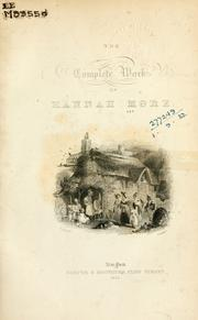 Cover of: Complete works