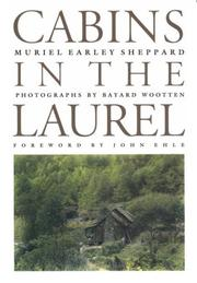 Cover of: Cabins in the laurel | Muriel Earley Sheppard
