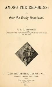 Cover of: Among the red-skins; or, Over the Rocky mountains