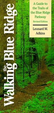 Cover of: Walking the Blue Ridge