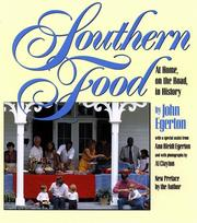 Cover of: Southern food