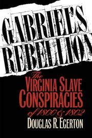Cover of: Gabriel's rebellion