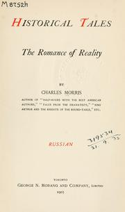 Cover of: Historical tales, the romance of reality: Russian