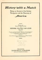 Cover of: History with a match
