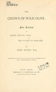 Cover of: The crown of wild olive