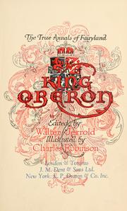 Cover of: The reign of King Oberon