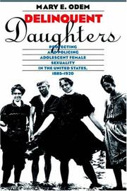 Cover of: Delinquent daughters