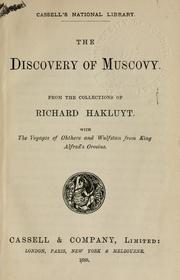 Cover of: The discovery of Muscovy, from the collections of Richard Hakluyt