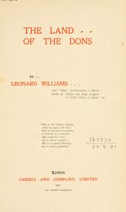 Cover of: The land of the Dons