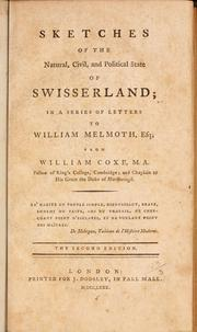 Cover of: Sketches of the natural, civil, and political state of Swisserland