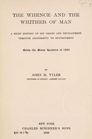 Cover of: The whence and the whither of man
