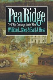 Cover of: Pea Ridge: Civil War Campaign in the West
