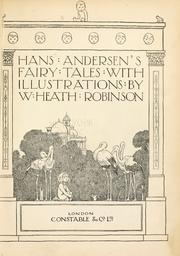 Cover of: Hans Andersen's fairy tales by Hans Christian Andersen
