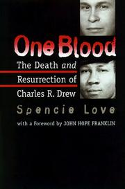 Cover of: One Blood | Spencie Love