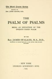 Cover of: The Psalm of Psalms