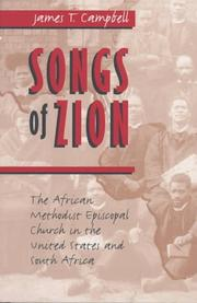 Cover of: Songs of Zion | James T. Campbell