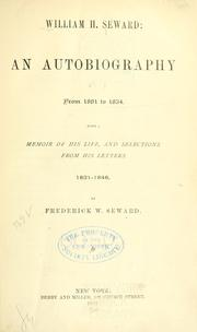 Cover of: William H. Seward