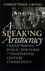 A speaking aristocracy by Christopher Grasso