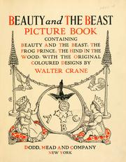 Cover of: Beauty and the beast picture book | Walter Crane