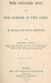 Cover of: The Soldier Boy
