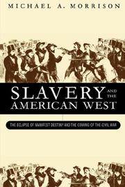 Cover of: Slavery and the American West