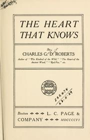 Cover of: The heart that knows