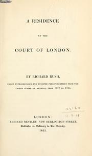 Cover of: A residence at the court of London