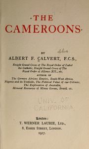 Cover of: The Cameroons