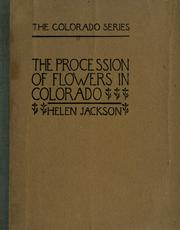 Cover of: The procession of flowers in Colorado